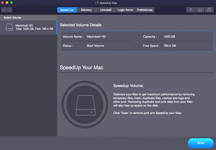 Stellar SpeedUp Mac full screenshot